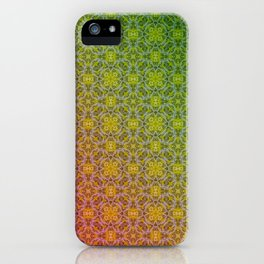 red green Ombre iPhone Case