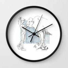 Buffallo Whisperer Wall Clock