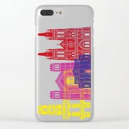 Adelaide V2 skyline pop Clear iPhone Case
