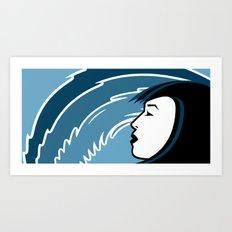 Waveslider Art Print