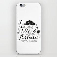 Les filles presque parfaites iPhone & iPod Skin