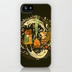 Animal Chants & Forest Whispers iPhone SE Slim Case