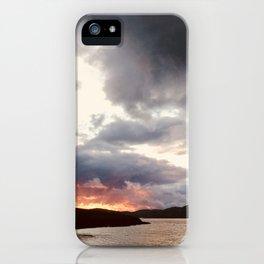 Hebridean Sunset iPhone Case