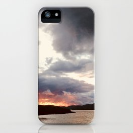 Hebridean Sunset iPhone Case