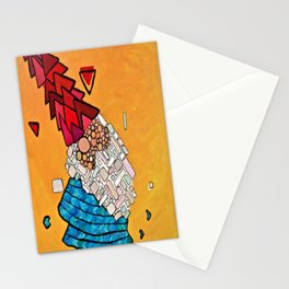 Abstract Study of Gnome (Pt.3) Stationery Cards
