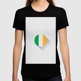 Minimal Ireland Flag T-shirt