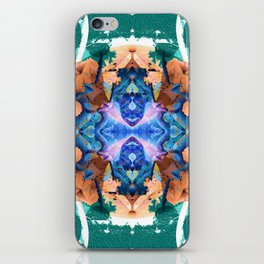 Galactic Pulse II Cosmic Psyche Mandala iPhone Skin