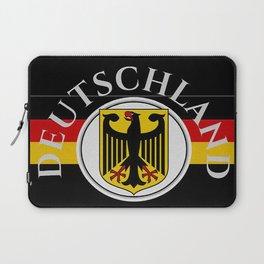 Deutschland ...German Flag and Eagle Laptop Sleeve
