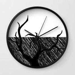 The black tree design, just shop Wall Clock