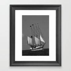 The Battle of Lake Erie Framed Art Print
