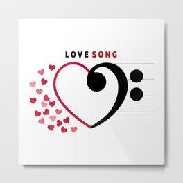 Lovesong Metal Print