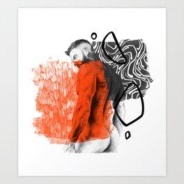 Kevin NewDDOOD - NOODDOOD Remix Art Print