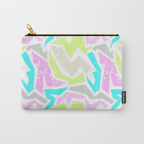 Abstract painting in pastel shades . Carry-All Pouch