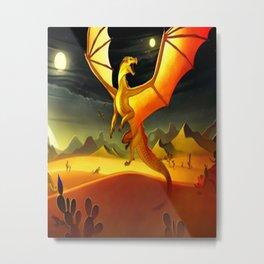 Wings of Fire Night Metal Print