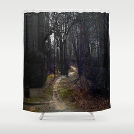 Road to somewhere  Shower Curtain