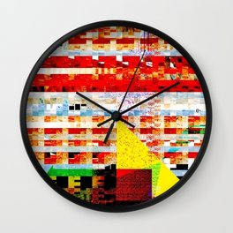 Negatives Wall Clock