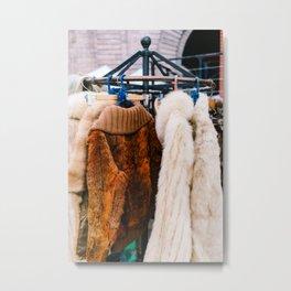 Brooklyn Fur Metal Print