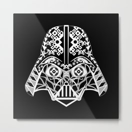 Mr. Darth Metal Print