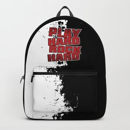 Play Hard Rock Hard Backpack
