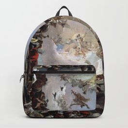Giovanni Battista Tiepolo - Allegory of the Planets and Continents 1752 Backpack