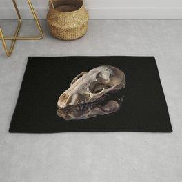Raccoon Skull Reflection Rug