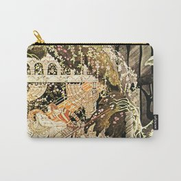 "Kay Nielsen Fairytale Illustration ""Sleeping Beauty"" Carry-All Pouch"