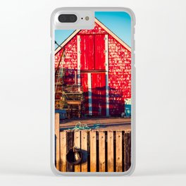 End of Day at Blue Rocks Clear iPhone Case