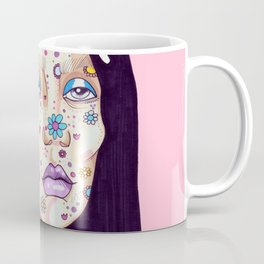 Allergic to flowers Coffee Mug