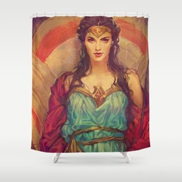 MEME 019 DIANA PRINCE Shower Curtain
