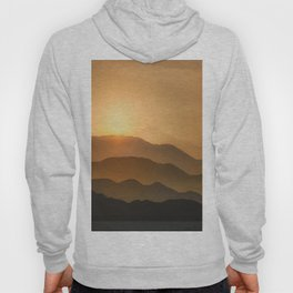 Sunrise in the mountains - beautiful morning - #Society6 #buyart Hoody