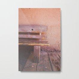 Desert Ghost Town II Metal Print