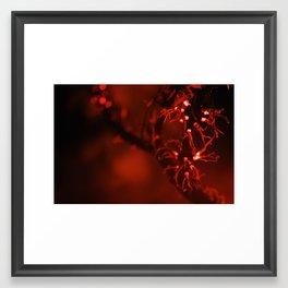 first flame Framed Art Print