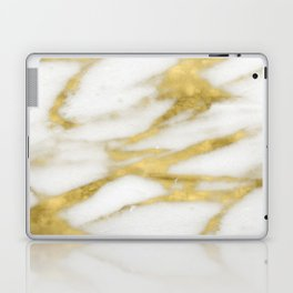 Bari golden marble Laptop & iPad Skin