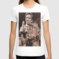 johnny cash T-shirts featuring Johnny Cash by Ray Stephenson