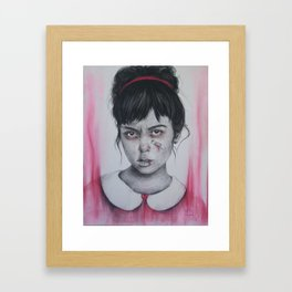 Princess Issues Framed Art Print