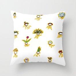 Dead Vegetation  Throw Pillow