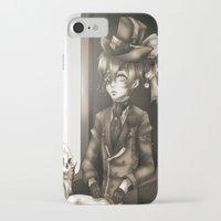 kuroshitsuji iPhone & iPod Cases featuring Ciel Phantomhive - The Queen's Watchdog by Lalasosu2