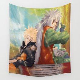 Naruto & Jiraya Wall Tapestry