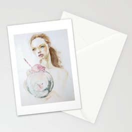 The Trap of success Stationery Cards