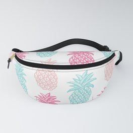 Pineapple Summer (pink and blue) Fanny Pack