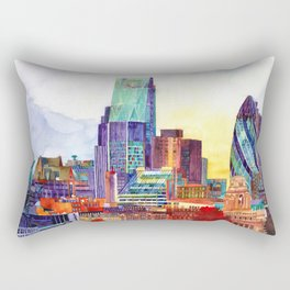 Sunshine in London Rectangular Pillow