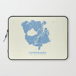 Copenhagen Map Laptop Sleeve
