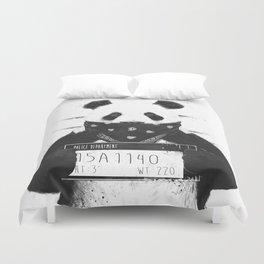 Bad panda Duvet Cover