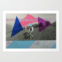 the cure Art Prints featuring The Cure by Naomi Vona