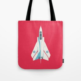 Tornado Swing Wing Jet - Crimson Tote Bag