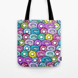 delicious donuts. Tote Bag