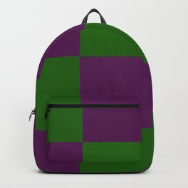 Green and purple dance Backpack