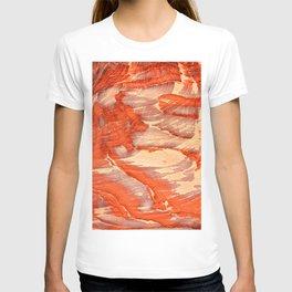 Colorful sandstone in Petra, Jordan (Picture 1) T-shirt