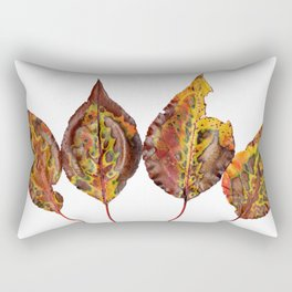 Fal Leaves Mother Nature Rectangular Pillow