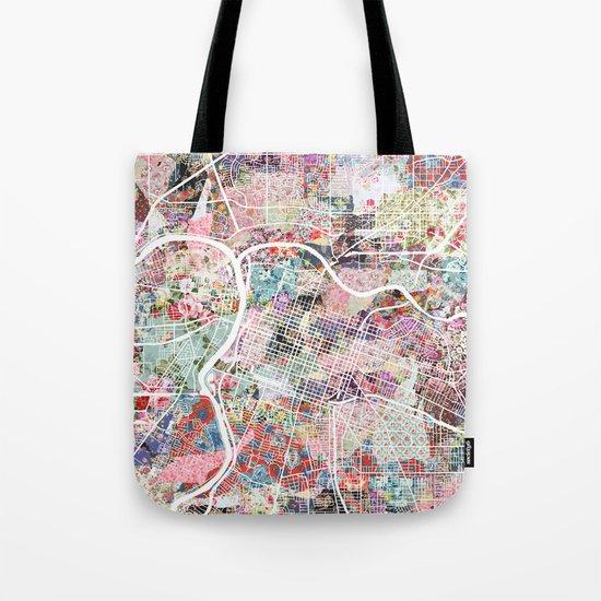 Sacramento map Tote Bag